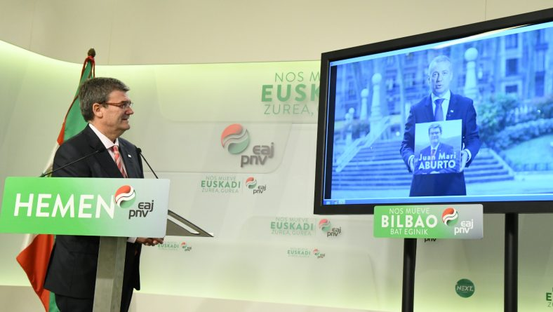 EAJ-PNV BILBAO PRESENTA SU CAMPAÑA ELECTORAL DIGITAL
